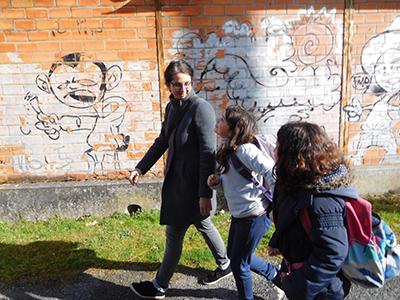 Interventions artistiques Leila Sadel