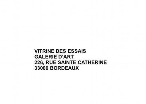 Faux plis / Récits /  LEILA SADEL/ VITRINE DES ESSAIS